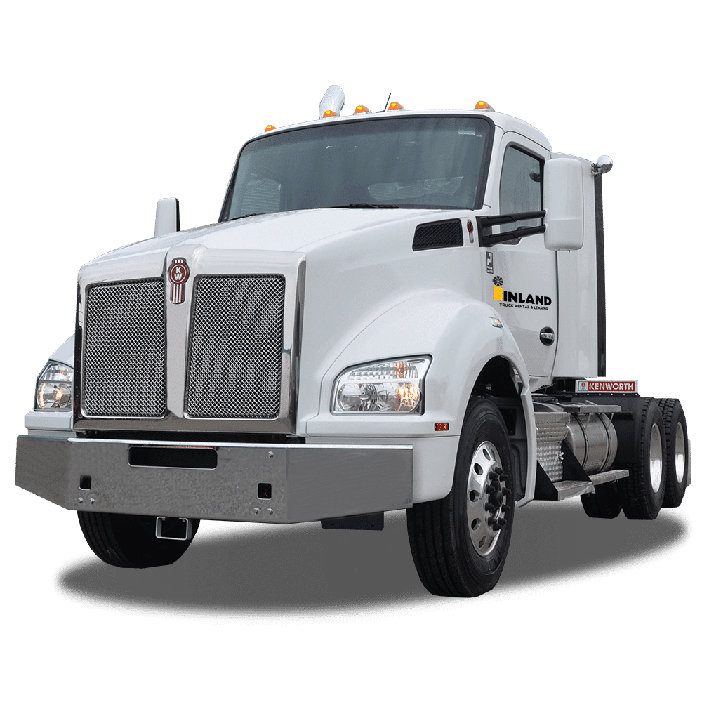 Day cab commercial  truck rental